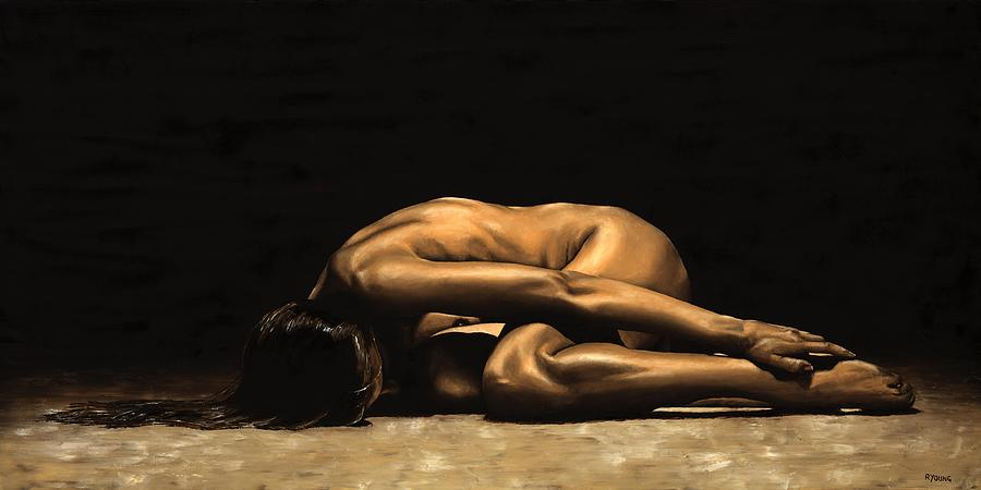 Nude Painting - Chastity by Richard Young