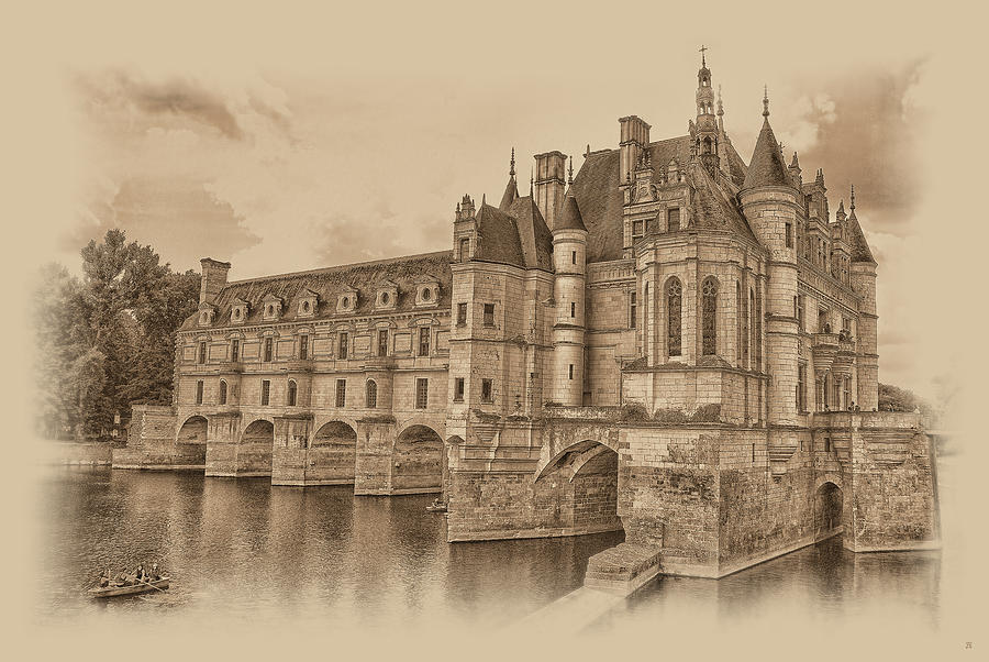 Chateau de Chenonceau by Nigel Fletcher-Jones