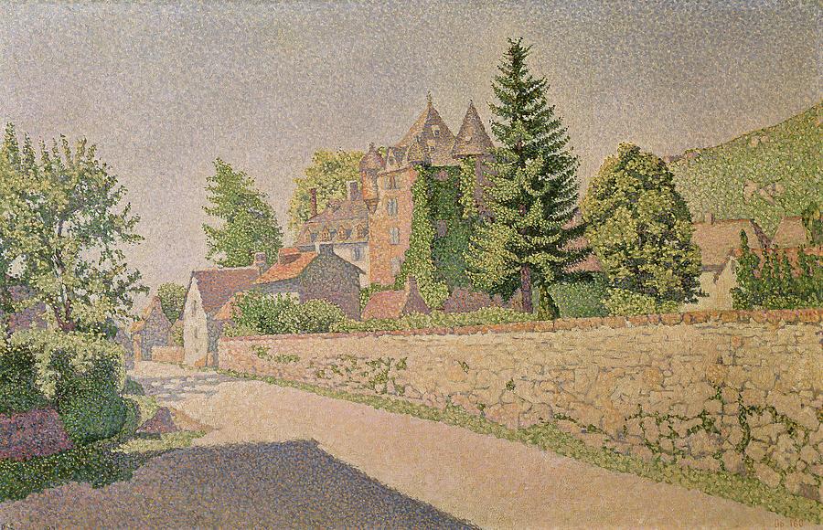 Signac Painting - Chateau De Comblat by Paul Signac