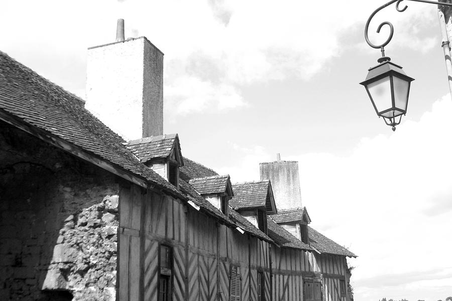 Photographer Photograph - Chateaudun Streets by Jez C Self