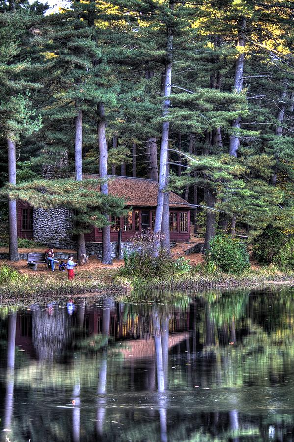 Chatfield Hollow Cabin Photograph by Sam Turgeon