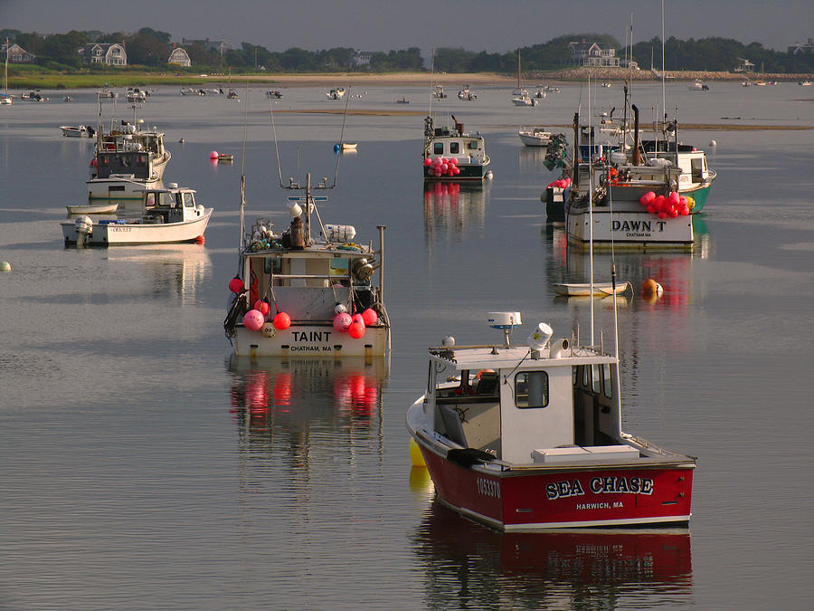Cape Cod Photograph - Chatham Harbor by Juergen Roth
