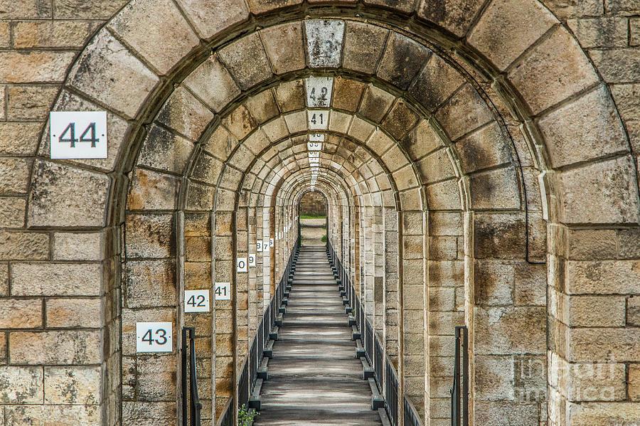 Chaumont Viaduct France by Fabrizio Malisan