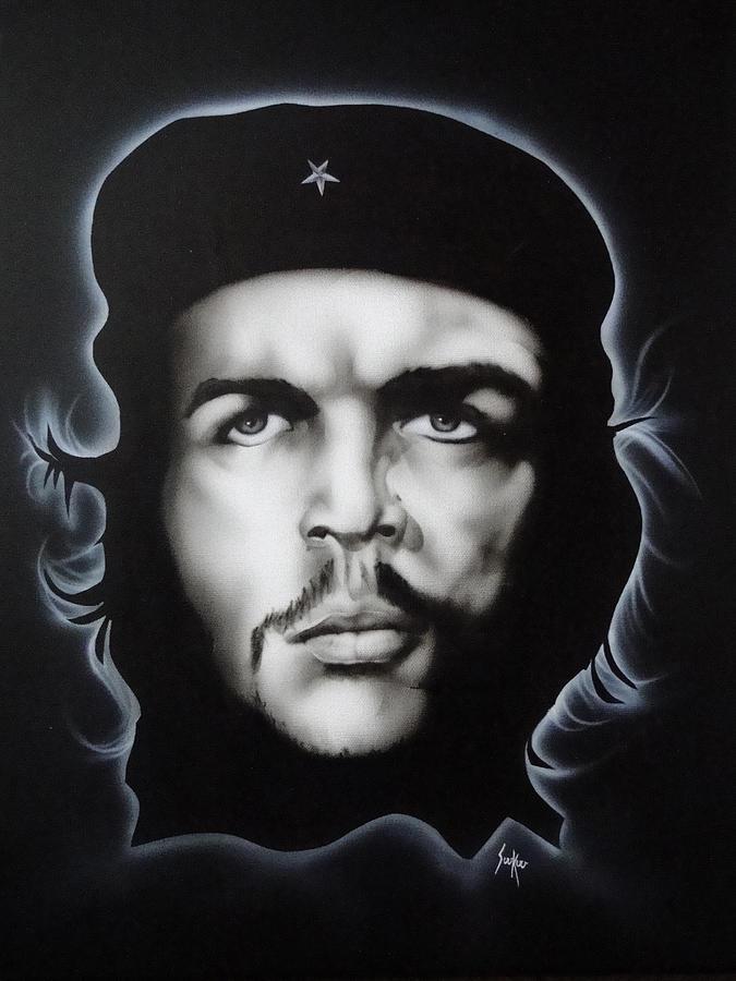 Che Guevara Painting - Che Guevara by Stephen Sookoo
