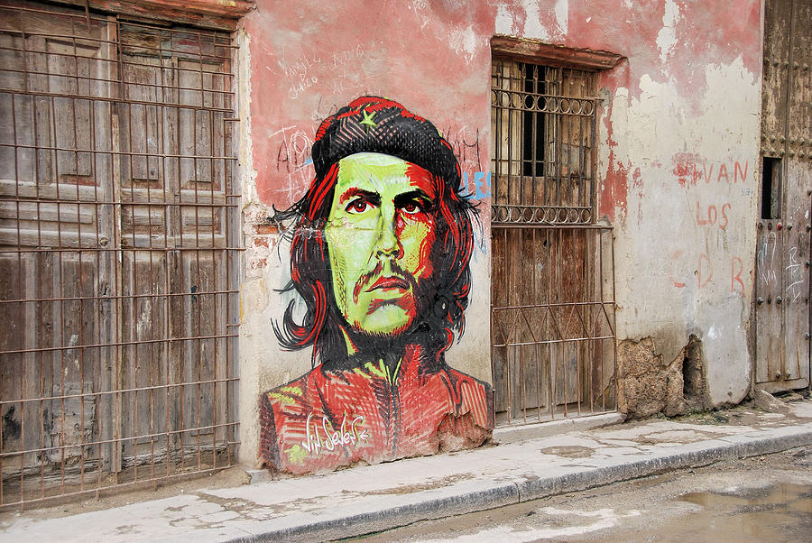 Cuba Photograph - che by Marie Schleich