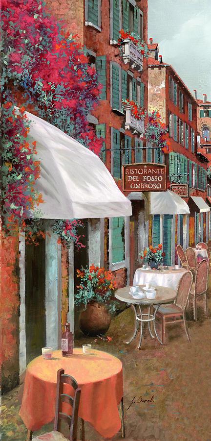 Table Painting - Che Tavolo Vuoi by Guido Borelli