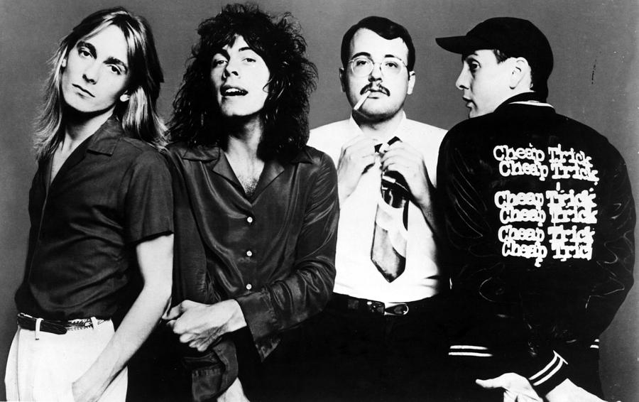 1980s Music Photograph - Cheap Trick, Robin Zander, Tom by Everett