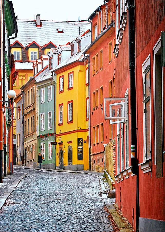 Travel Photograph - Cheb An Old-world-charm Czech Republic Town by Christine Till