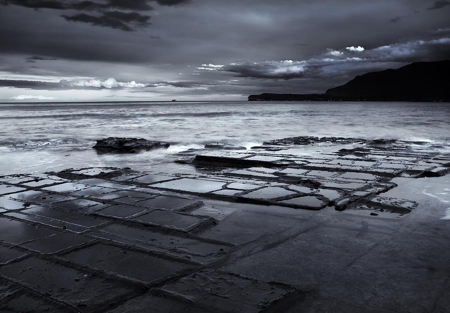 Tasman Peninsula Photograph - Checkerboard Squares by Mike  Dawson