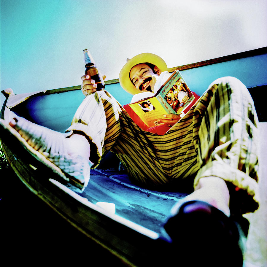 Cheech Photograph - Cheech Marin In Boat by YoPedro