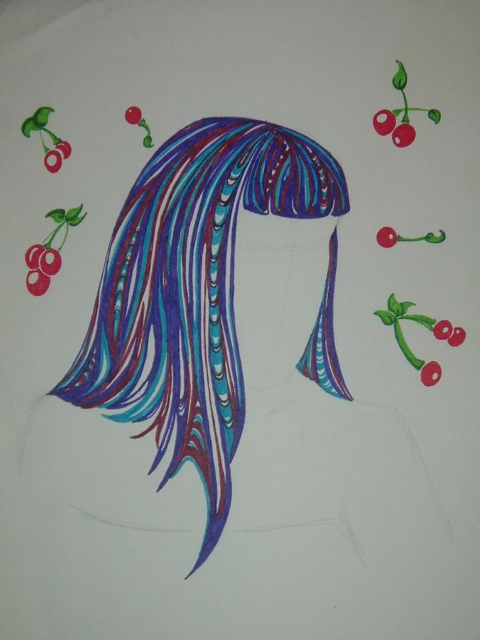 Cheeky Drawing by Hannah  Kallman