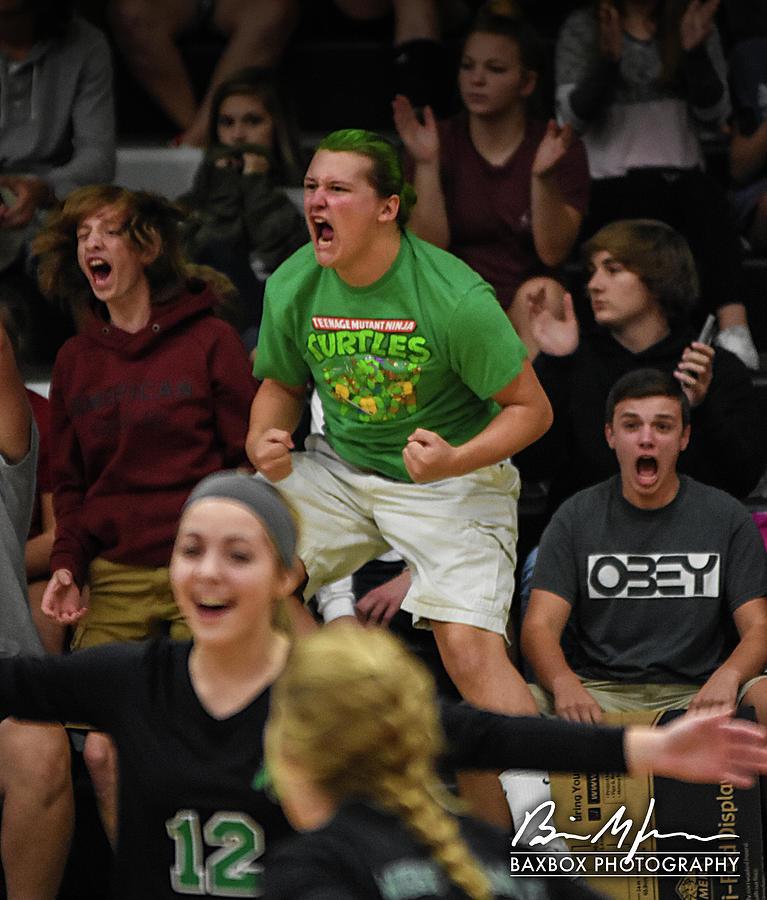 Cheering Photograph by Brian Jones