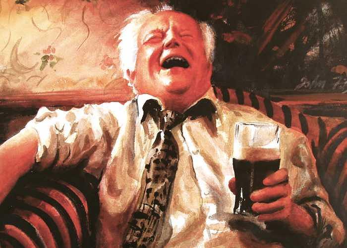 People Print - Cheers by John Fitzgibbon