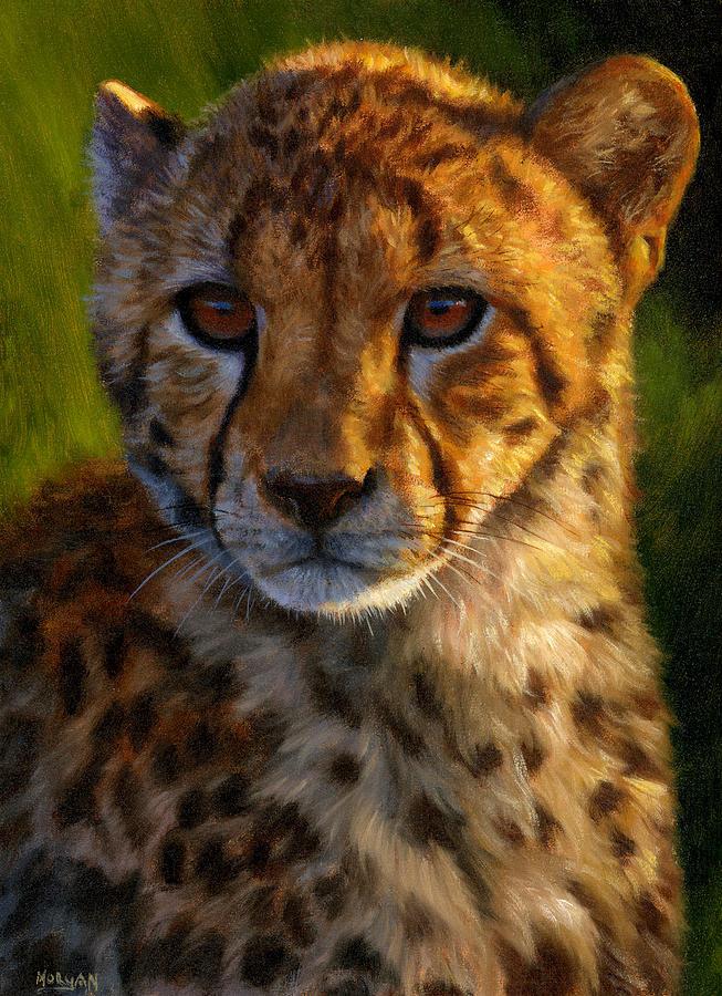 Cheetah Paintings Canvas