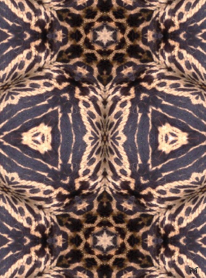 Digital Digital Art - Cheetah Print by Maria Watt