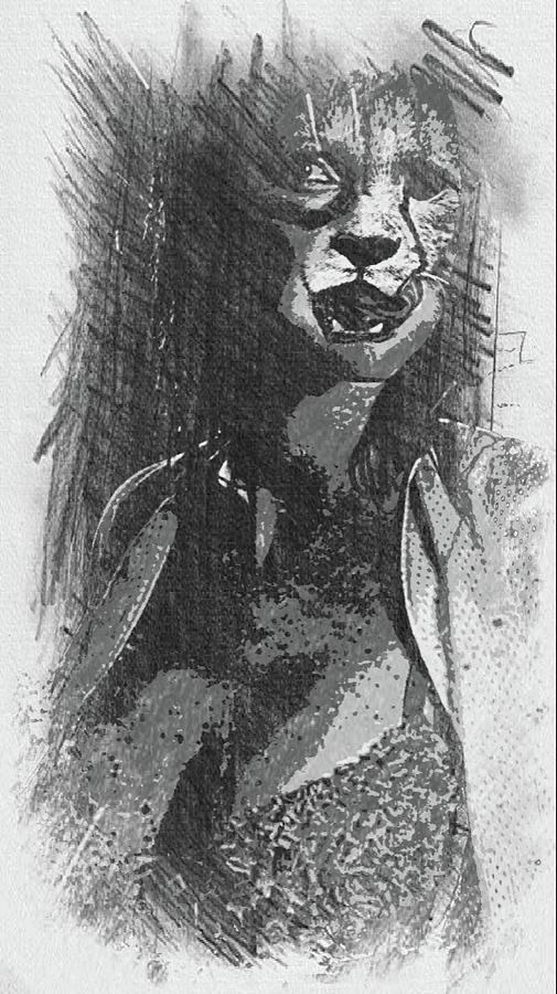 Cheetah Digital Art - Cheetah by Robert Hill