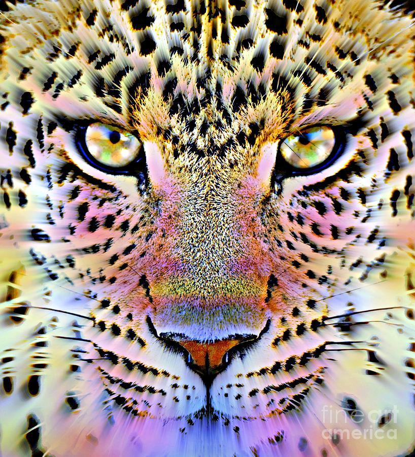 Cheetah Painting - Cheetah Vi by Wbk