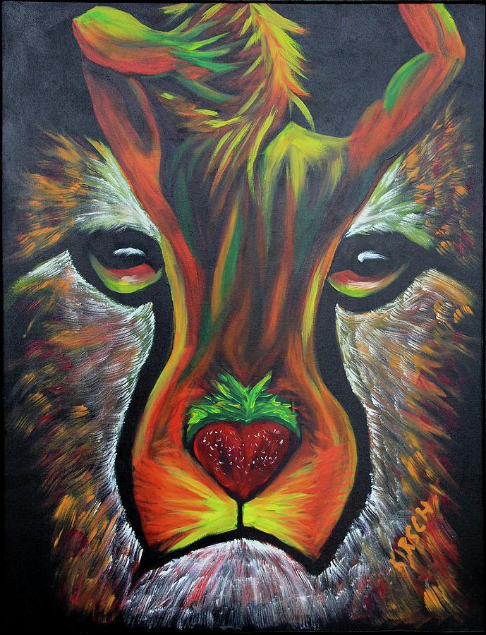 Billy Joe Armstrong Painting - CheetAHH by Robert Kirsch