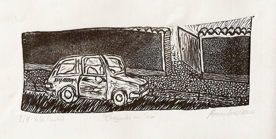 Casa Print - Chegando Em Casa by Alexandro MF