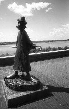 Chekhov Photograph - Chekhov Monument by Susan Chandler