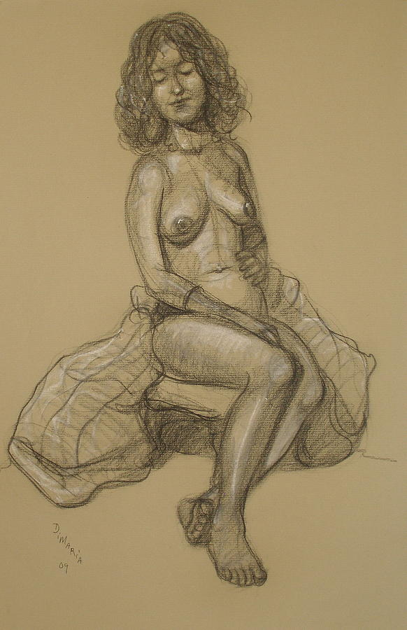 Realism Drawing - Chelsea 1 by Donelli  DiMaria