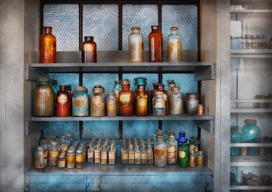 Hdr Photograph - Chemist - My First Chemistry Set  by Mike Savad