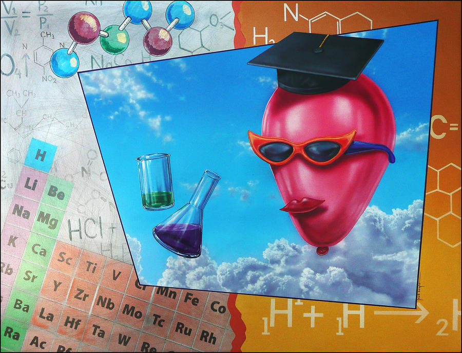 Chemistry Painting - Chemistry by Jack Knight