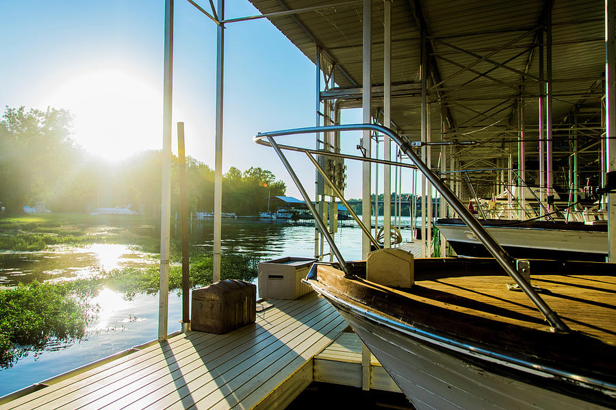 Cherokee Marina Sun by Tom Blizzard