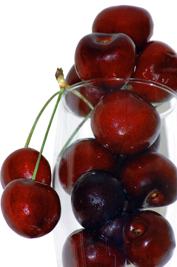 Cherries Photograph - Cherries by Becky Carpenter