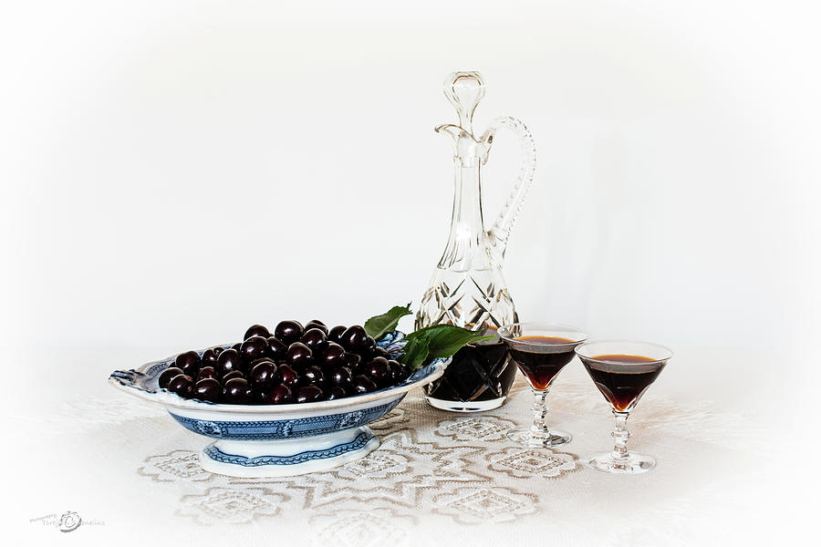 Cherries In An Old Fashion Way - A Still Life Photograph