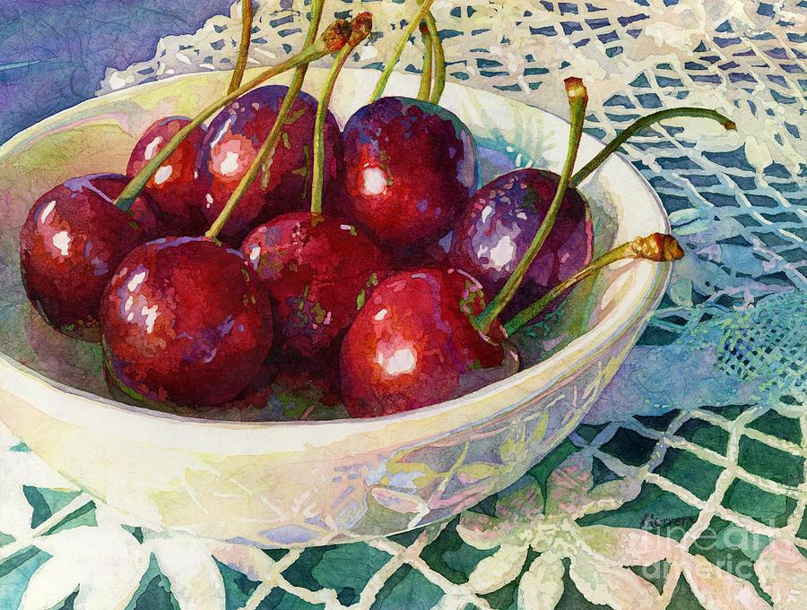 Cherries Jubilee Painting