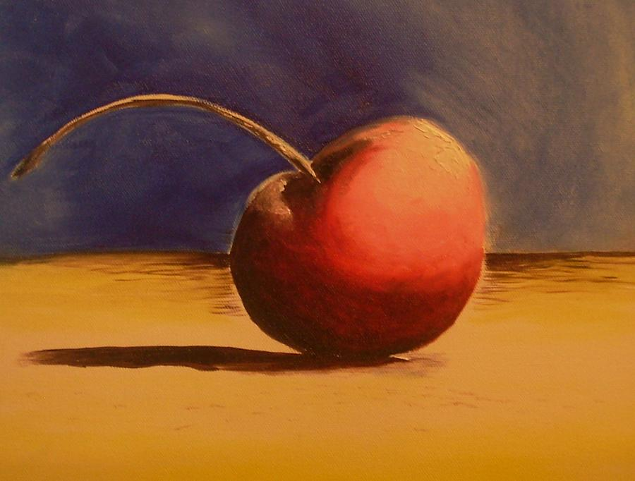 Cherry Red Painting - Cherry 41a by Ruben Barbosa