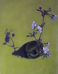 Cherry Blossom Painting - Cherry Blossom by Rose Baggs
