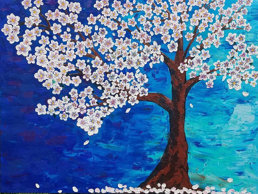 Cherry Blossom Tree  by Jennah Lenae