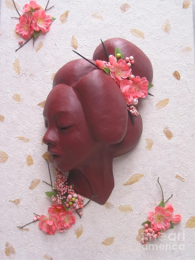 Casting Sculpture - Cherry Blossoms by Tomi LaPierre