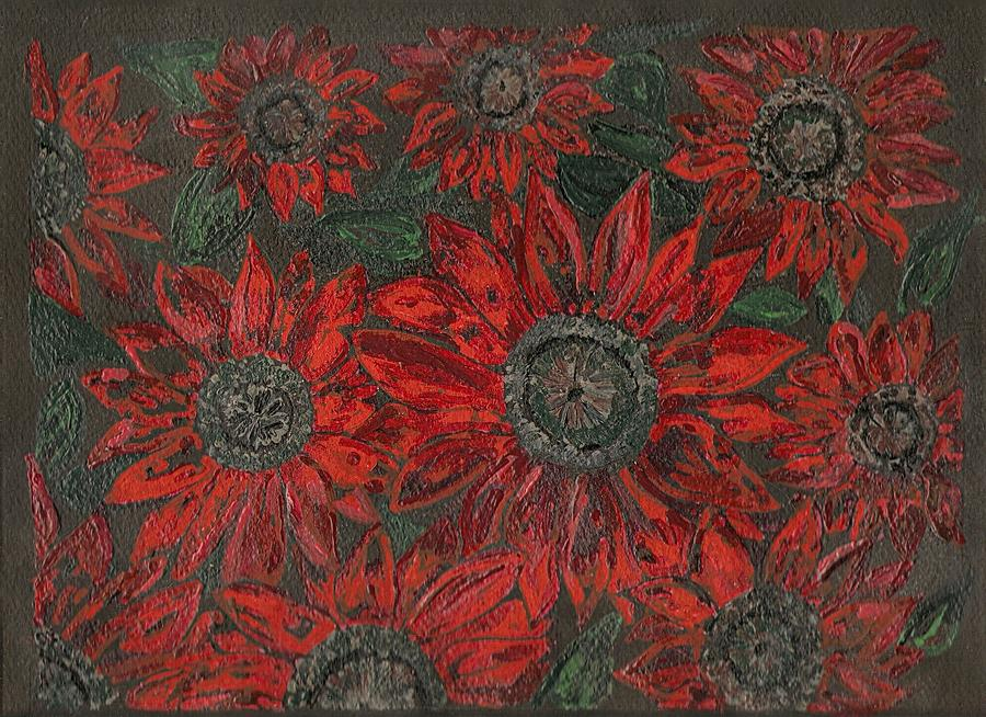 Flowers Painting - Cherry Brandy by David Sutter