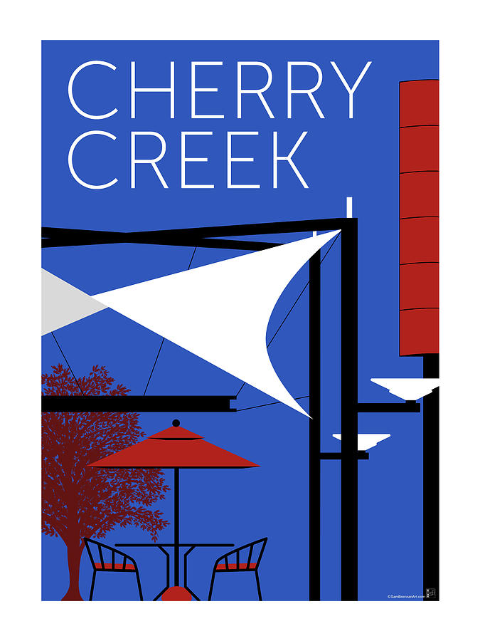 Cherry Creek Blue by Sam Brennan