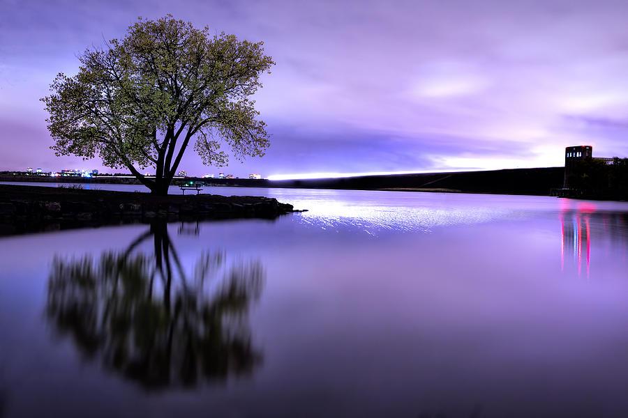 Colorado Photograph - Cherry Creek Night by Dave Crowl