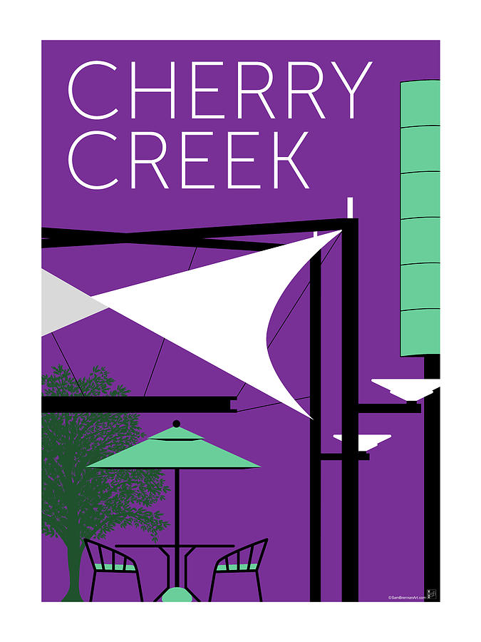 Cherry Creek Purple by Sam Brennan