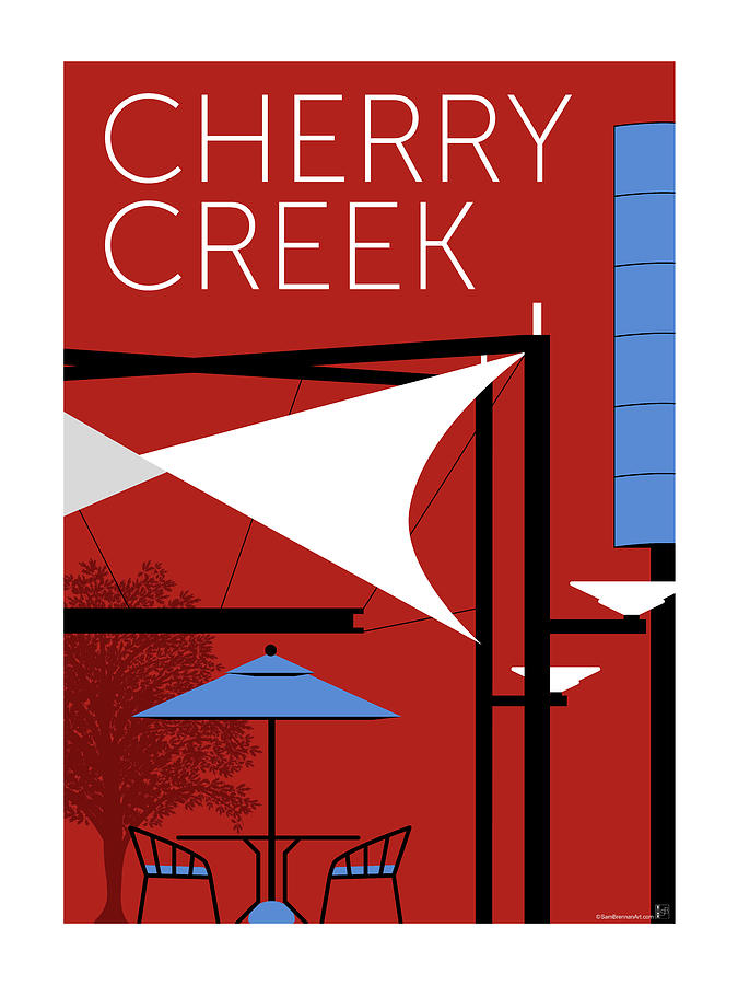 Cherry Creek Red by Sam Brennan