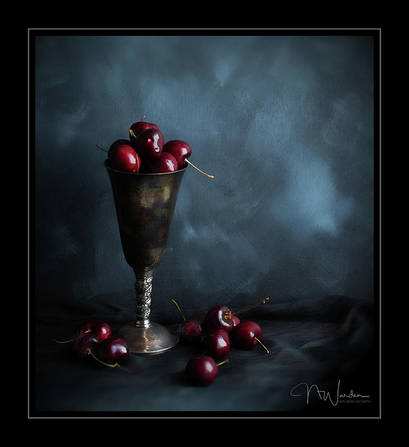 Cherry Goblet by Norma Warden