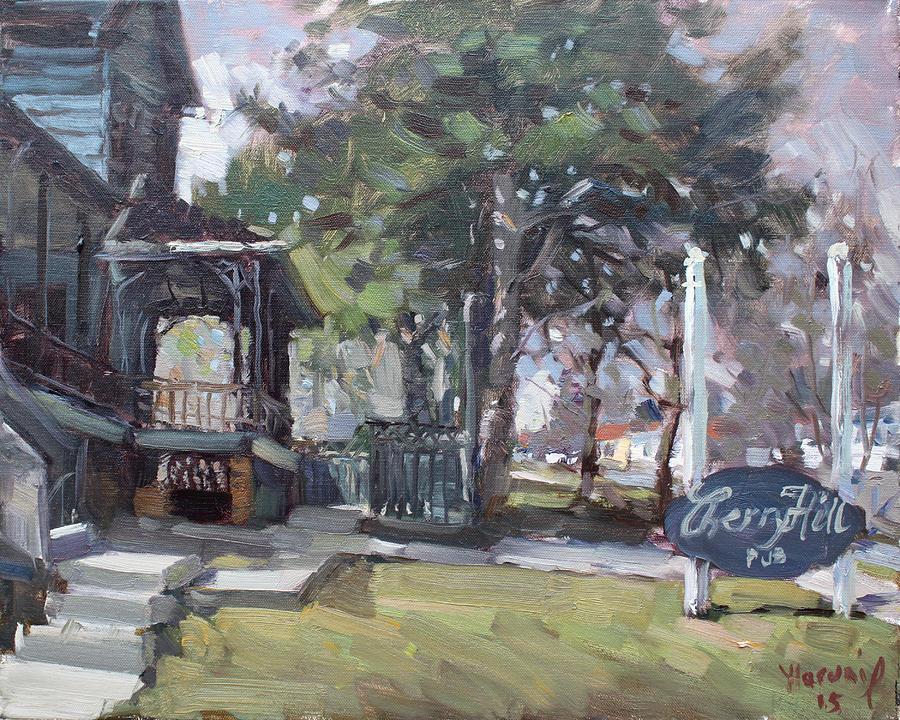 Mississauga Painting - Cherry Hill Pub by Ylli Haruni