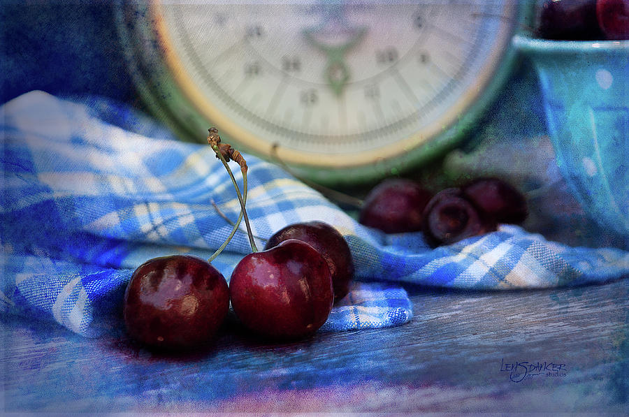 Summer Photograph - Cherry Love by Joy Gerow