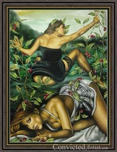 Cherry Lull Fandango Painting by David Arredondo