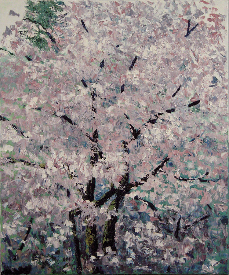 Trees Painting - Cherry Pink by Paul Illian