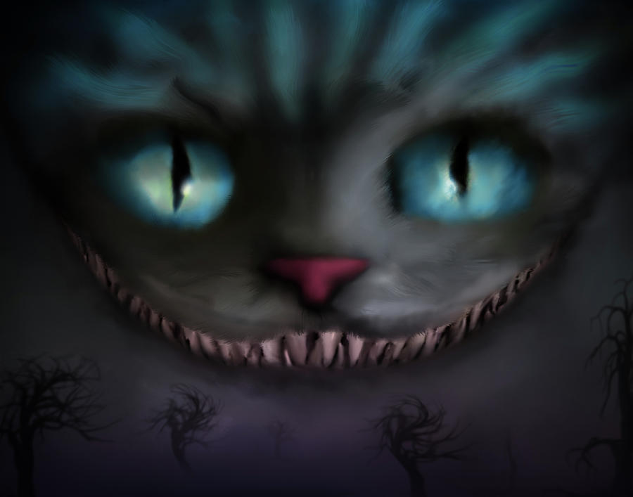 Cheshire Digital Art - Cheshire by Shannon Combs