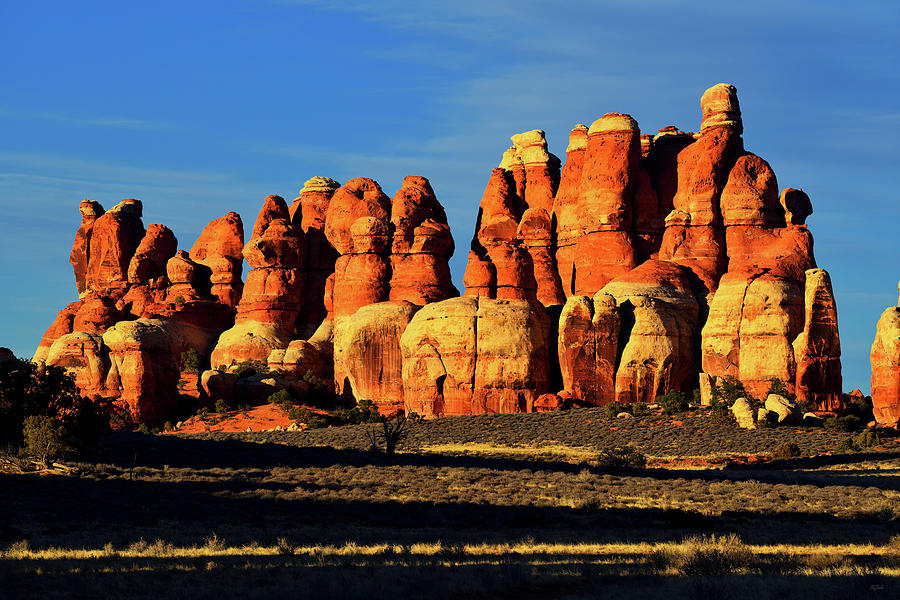 Canyonlands National Park Photograph - Chesler Park Sandstone Towers by Greg Norrell
