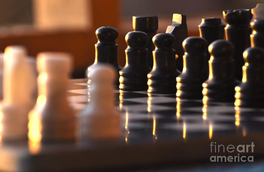 Chess Photograph - Chess by Juanita Doll