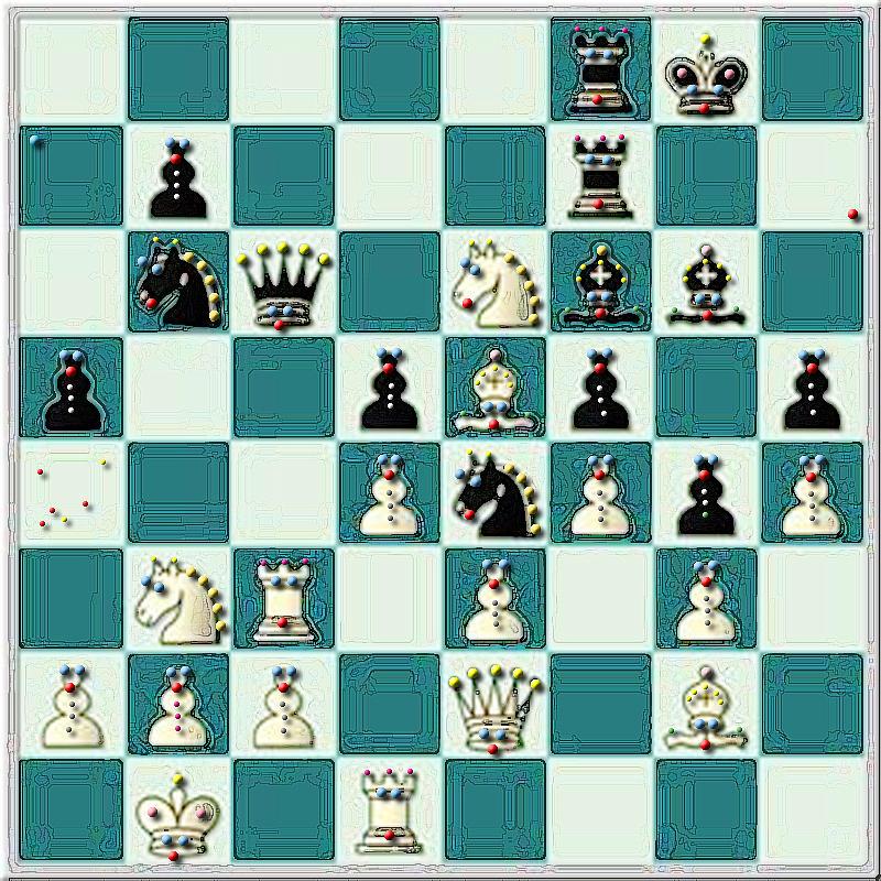 Chess Digital Art by Nils Denker