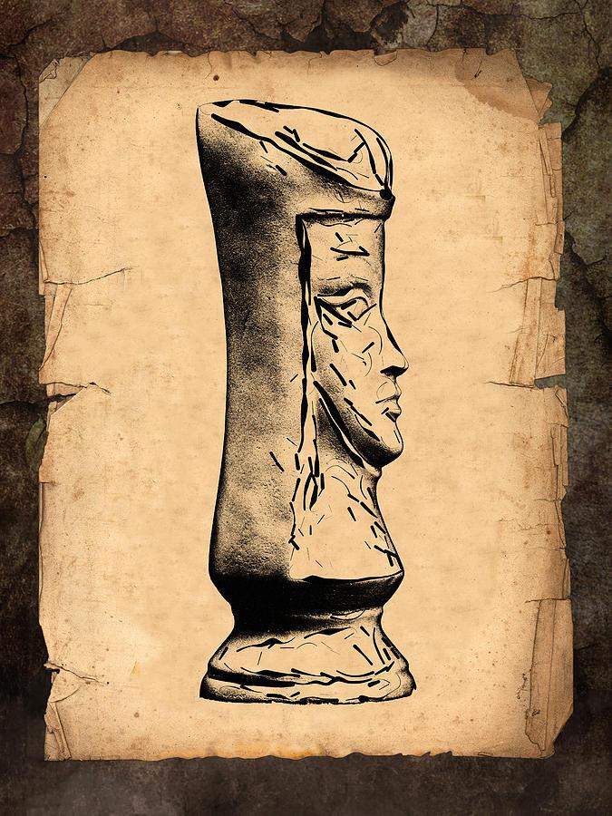 Queen Photograph - Chess Queen by Tom Mc Nemar